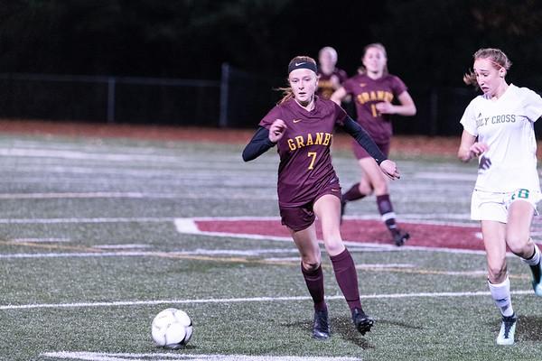 2018_11_07 GMHS Varsity girls soccer vs Holy Cross playoff