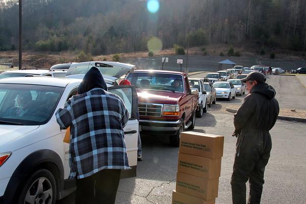 2014,  Thanksgiving Distribution