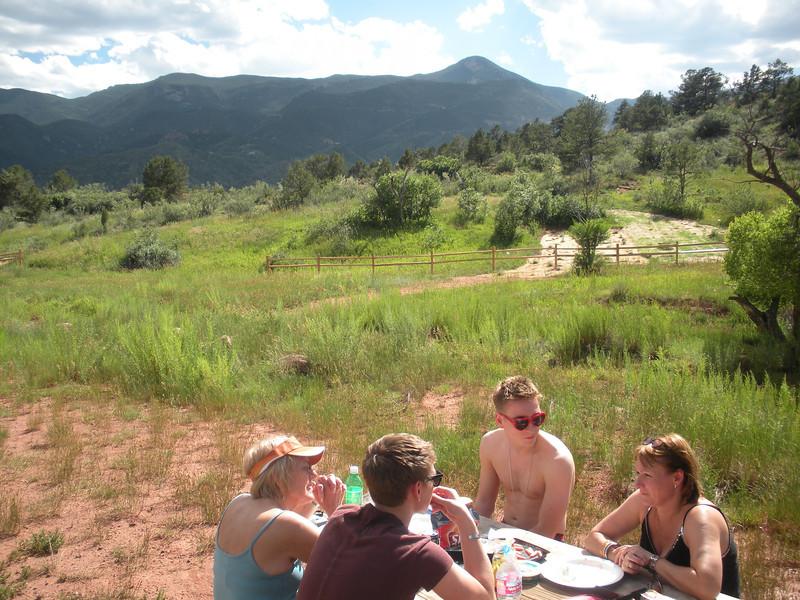 A nice warm day in Colorado.