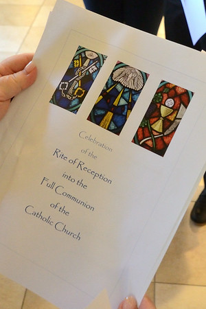 Five Become Full Members of the Church