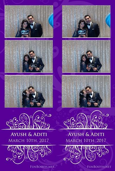 Aditi and Ayush - custom