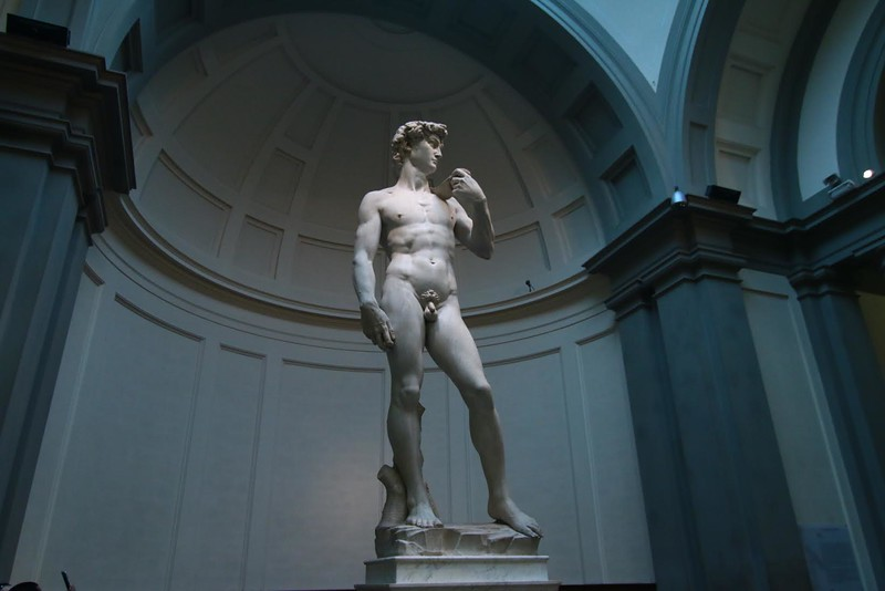 Micael Angelo's David is the star of your trip to Florence. Be sure to include time here in your Italy travel plans. Evan Bordessa Photography