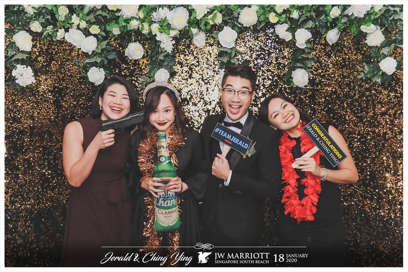 Wedding of Jerald & Ching Ying   © www.SRSLYPhotobooth.sg