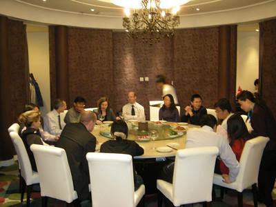 Dinner MOFCOM 200901