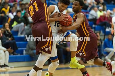 Boys Basketball: Broad Run vs. Tuscarora 2.17.16 (by Chas Sumser)