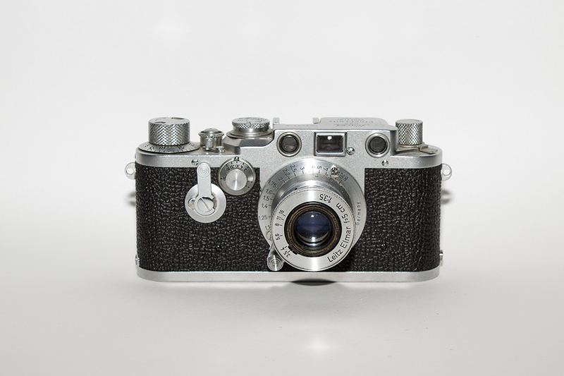 1950's Leica. This was a IIIc that my father owned.