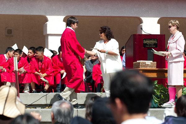Austin's 8th grade graduation