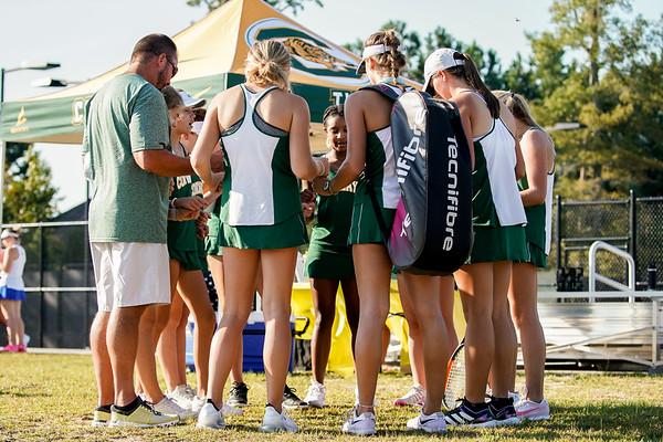 CHS Varsity Tennis Lady Tigers 2021