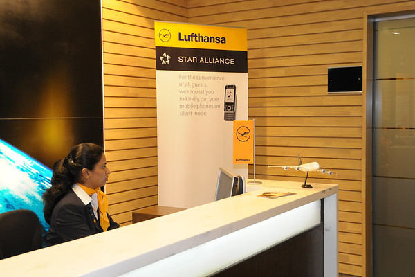 Lufthansa Lounge at CSI Airport, Mumbai