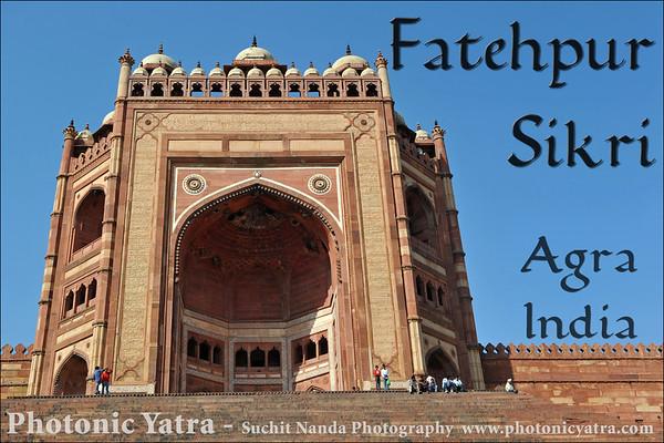India, UP, Agra, Fatehpur Sikri