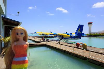 Angélique aux Maldives