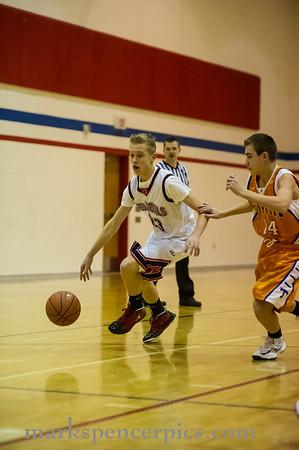 Basketball SHS JV vs TimpView 1-22-2013