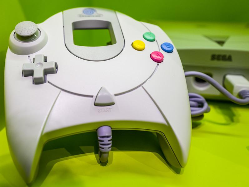 Sega Dreamcast in Computerspielemuseum, Berlin
