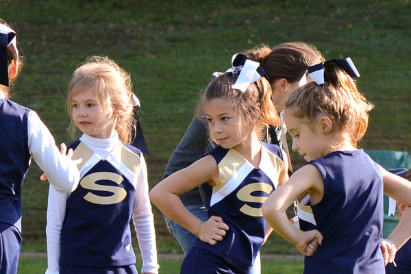 JV Cheer Squad Vs Kennett-Unionville