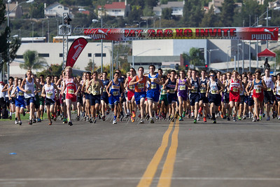 Mt Sac XC boys varsity friday