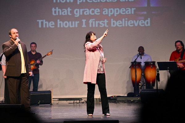 Easter service 2011