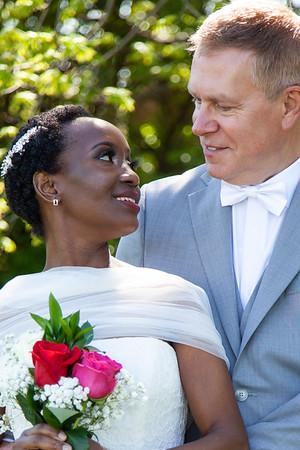 Veronica + Timothy: Brendon Way Micro Wedding