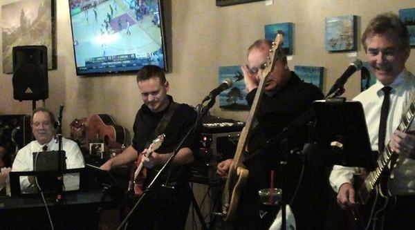 THE NIGHT BEFORE gig Bean Bar Nov 15 2014