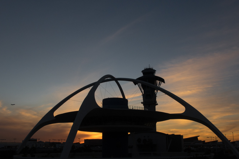 December 9 - Taking off into the sunset at LAX.jpg