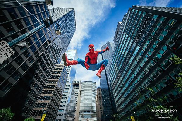 Spiderman Homecoming Cosplay Photoshoot