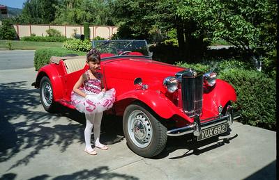 Tiffany as Ballerina and 1951 MGTD