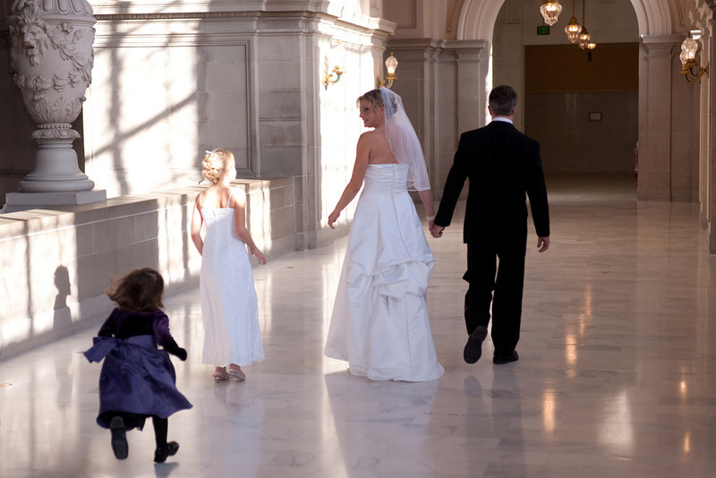 SF City Hall wedding - portfolio