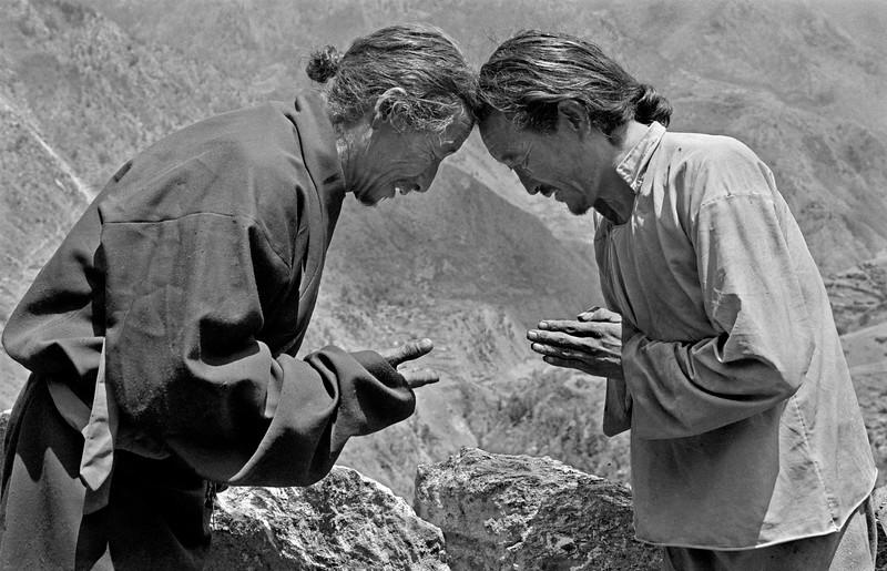 Tibetan Greeting