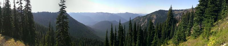 Jordan Creek basin panorama