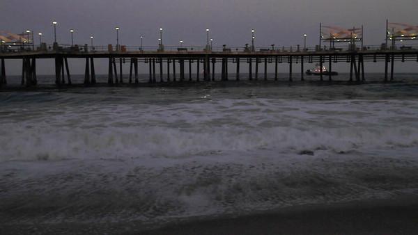 Sunrise Waves Redondo Beach Pier