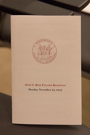 112315 Bose Fellows Reception