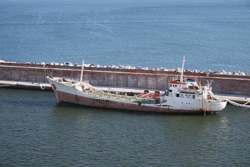 2010 - M/S THEODOROS laid up in Genova.
