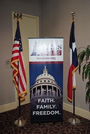 Texas Faith Family and Freedom Gala 2015