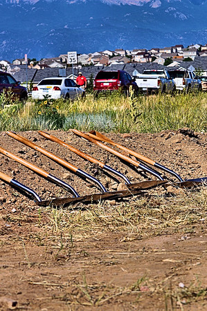 Colorado Springs Fire Station No. 21 Groundbreaking Ceremony
