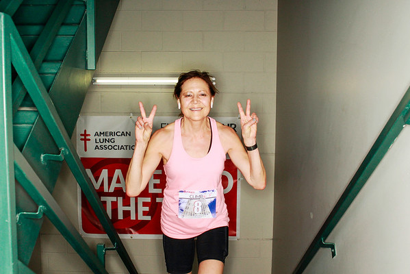 2020 American Lung Association Fight for Air Climb Stair Photos