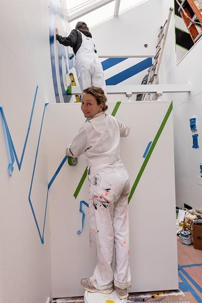 Barbara Stauffacher Solomon - Work in Progress