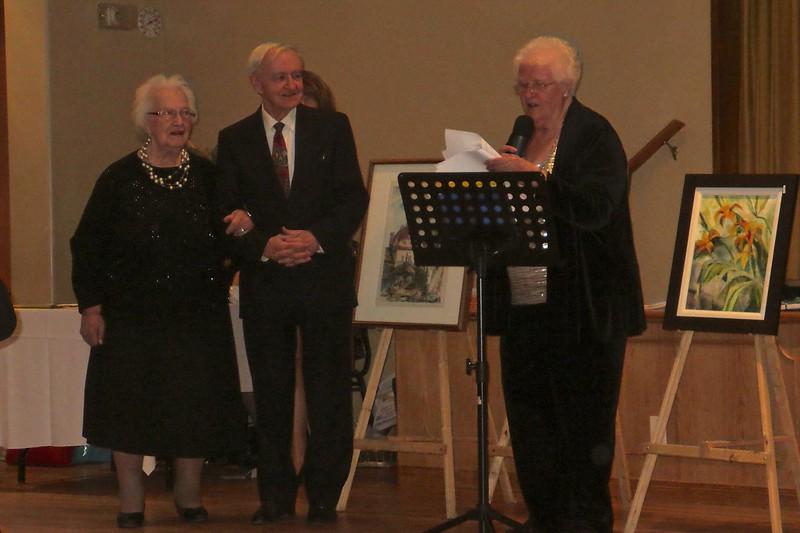 Honoured for 45 years of volunteering
