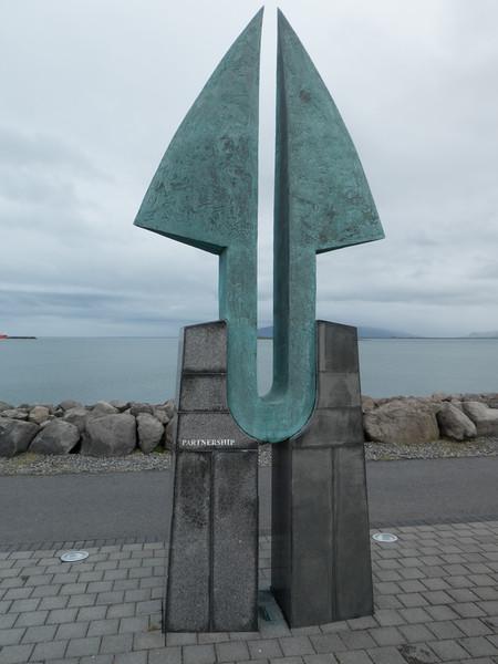 Partnership Sculpture. Reykjavik