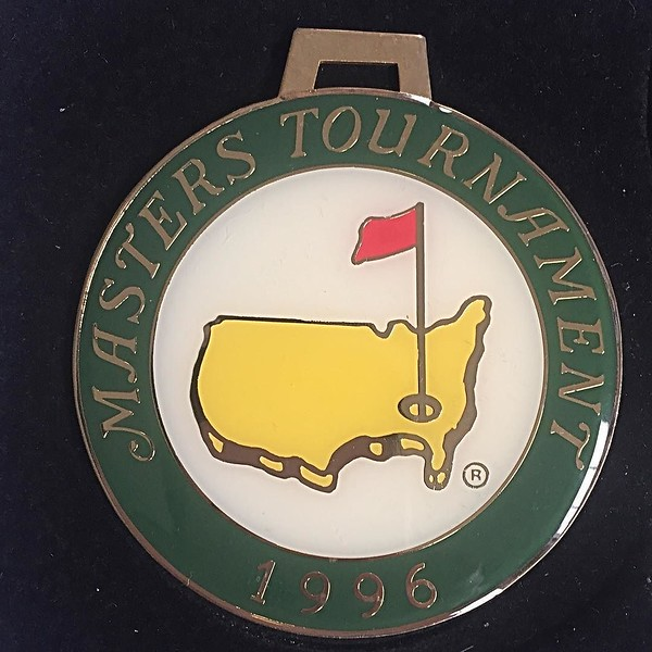 I pull this out of a drawer once a year -- it was a gift for my dad from a University of Rochester trustee and former Sports Illustrated editor. Always makes me remember his love of golf and passion for the tournament this weekend. Can't believe I've had
