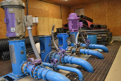 Snowmaking Pump Motor Reinstall