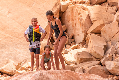 2020-06 Enloe Family at Lake Powell