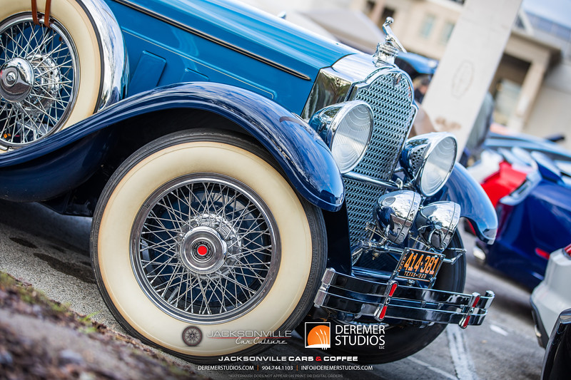 2019 01 Jax Car Culture - Cars and Coffee 008A - Deremer Studios LLC