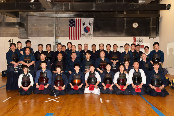 US HRK Black Belt Test