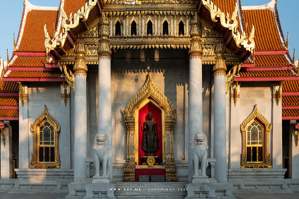 Phra Ubosot (West & South)
