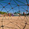 VOLUNTEERS BUILD NEW PLAYGROUND AT WILLOW OAKS SCHOOL