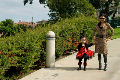 Eliana at Hilltop Park: October 31, 2010
