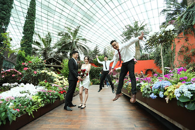 Our Solemnisation @ Garden By The Bay