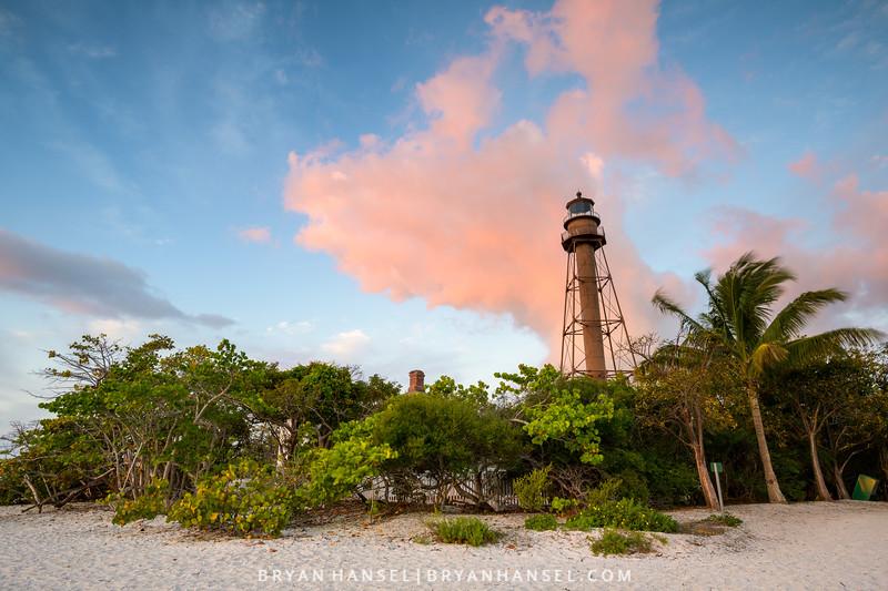 Sanibel Lighthouse Sunrise 1