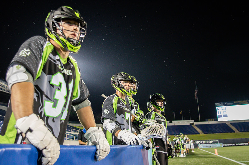 7/21/2020; Annapolis, MD, USA; Lizards vs. Outlaws - at Navy Marine Corps Memorial Stadium. Mandatory Photography Credit: Anne Evans