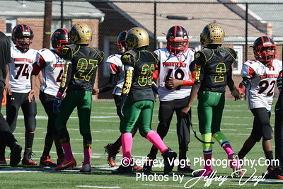 10-25-2014 Montgomery Village Sports Association Chiefs vs Forestville Pee Wee, Photos by Jeffrey Vogt Photography