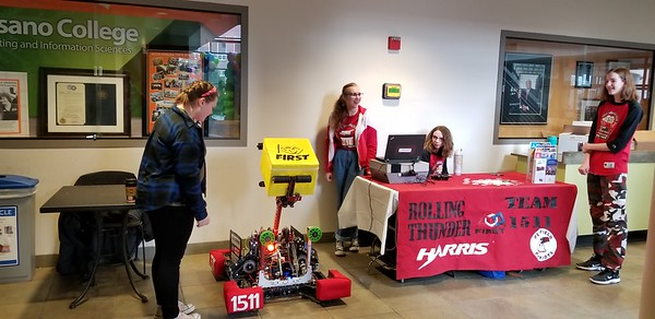 Girls in STEM Fair At RIT